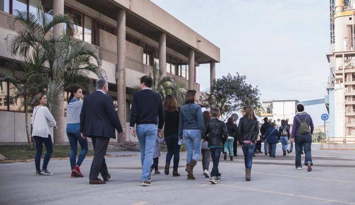 Jornada de Puertas Abiertas en la fábrica de cemento de La Araña - Málaga.