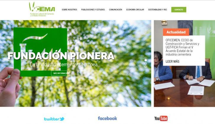 Nueva web Fundación CEMA.