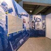 Expo Construcción de un icono Museum Cemento Rezola - interior 01.
