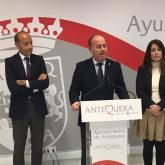 Cesion terrenos Dolmen Antequera 25.01.2017.