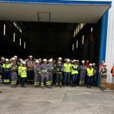 Las fábricas de Cementos Rezola-HeidelbergCement celebran su VI Semana de la Seguridad y Salud en el Trabajo.