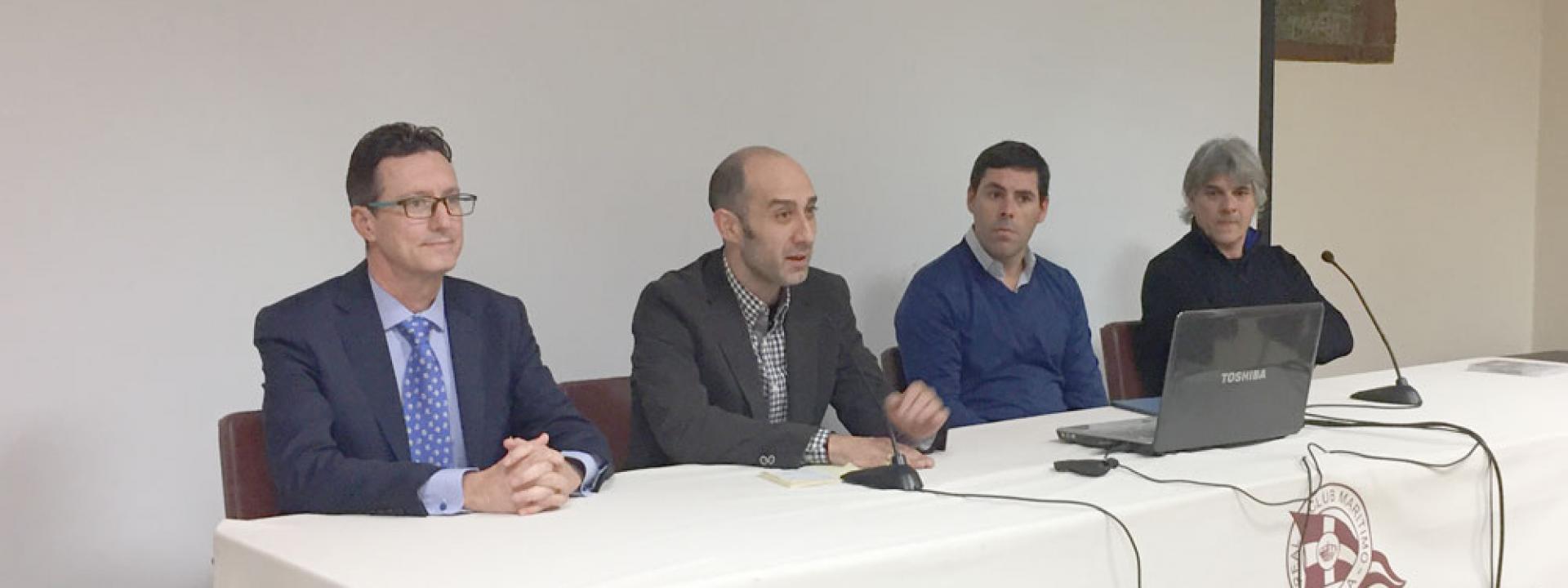 conferencia Juan Domingo Santos y Daniel Rincón de la Vega en COA Melilla.
